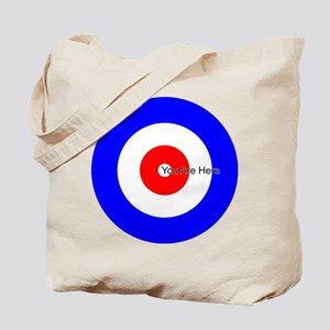 You Are Here Curling House Tote Bag