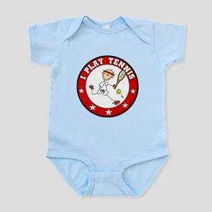 Boy I Play Tennis Infant Bodysuit