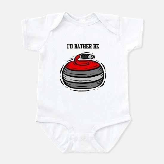 Rather Be Curling Infant Bodysuit