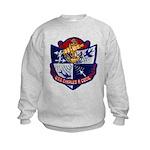 USS CHARLES P. CECIL Kids Sweatshirt