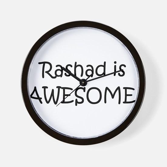 Rashad Wall Clock