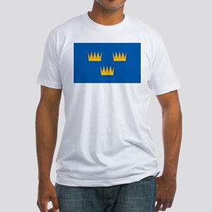 Munster Flag Fitted T-Shirt