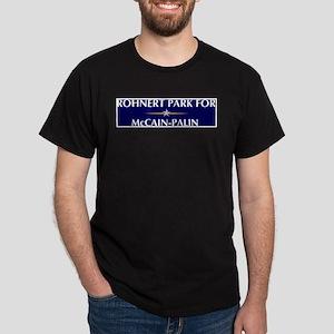 ROHNERT PARK for McCain-Palin Dark T-Shirt