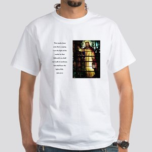 Jesus Light of the World White T-Shirt