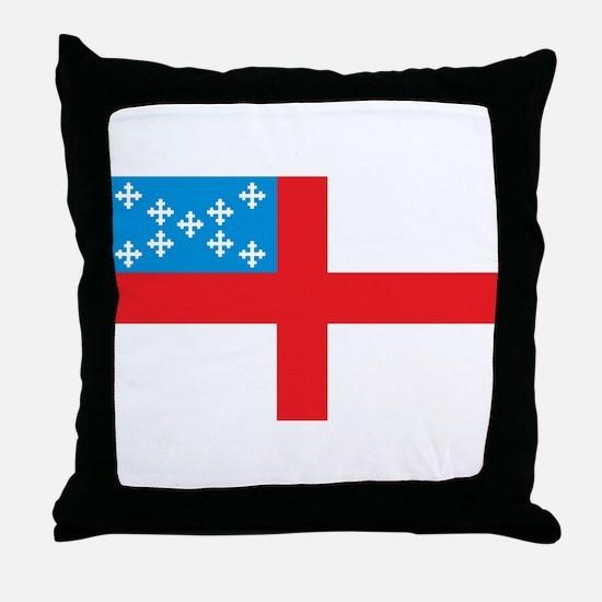 Episcopal Flag Throw Pillow