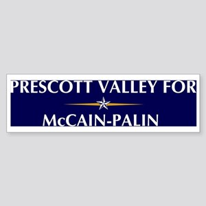 PRESCOTT VALLEY for McCain-Pa Bumper Sticker