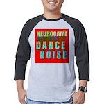 Dance Noise Mens Baseball Tee