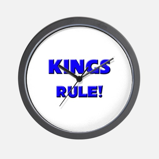 Kings Rule! Wall Clock