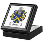 Persico Family Crest Keepsake Box
