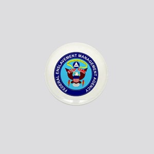 Stop FEMA Federal Enslavement Mini Button