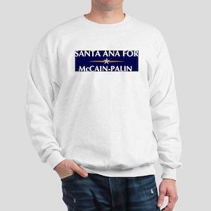 SANTA ANA for McCain-Palin Sweatshirt
