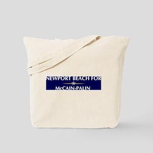 NEWPORT BEACH for McCain-Pali Tote Bag