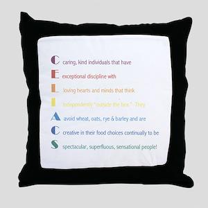 Celiacs Are... Throw Pillow
