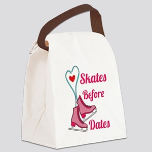 Lovely Gift Ice Skating Tshirt De Canvas Lunch Bag