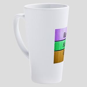 Mardi Gras 17 oz Latte Mug