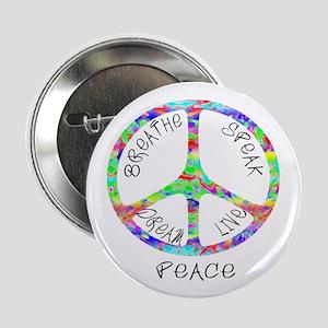 """Live Peace 2.25"""" Button"""