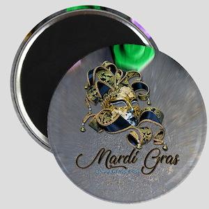 Mardi Gras mask Magnets
