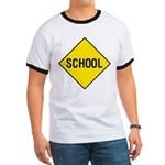 School Sign Ringer T