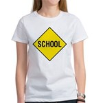 School Sign Women's T-Shirt