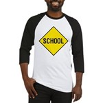 School Sign Baseball Jersey