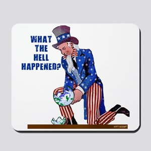 Distressed Uncle Sam Mousepad
