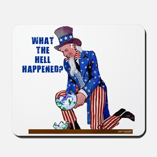 Distressed Uncle Sam Mousepad