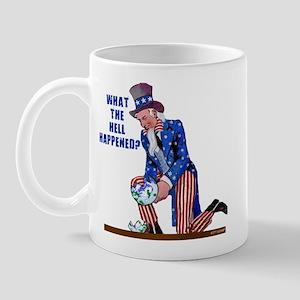 Distressed Uncle Sam Mug