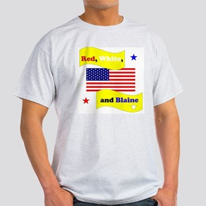 Red White and Blaine Light T-Shirt