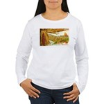 Hearty Thanksgiving Greetings Women's Long Sleeve