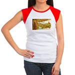 Hearty Thanksgiving Greetings Women's Cap Sleeve T