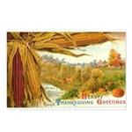 Hearty Thanksgiving Greetings Postcards (Package o