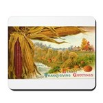 Hearty Thanksgiving Greetings Mousepad