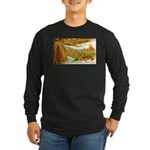 Hearty Thanksgiving Greetings Long Sleeve Dark T-S