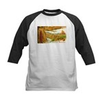 Hearty Thanksgiving Greetings Kids Baseball Jersey