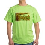 Hearty Thanksgiving Greetings Green T-Shirt