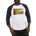 Hearty Thanksgiving Greetings Baseball Jersey