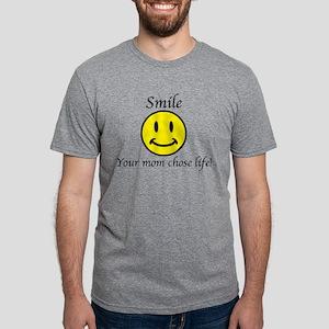 Smile Jesus Mens Tri-blend T-Shirt