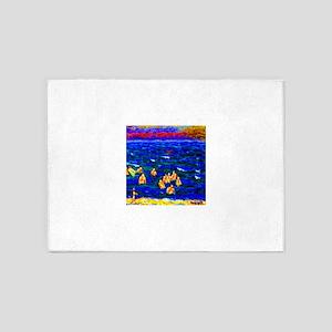 Pierre Bonnard Bathers 5'x7'Area Rug