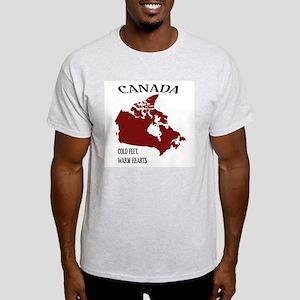Canada cold feet, warm hearts T-Shirt