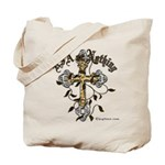 Veterans USA or Nothing Holy Cross Tote Bag