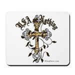 Veterans USA or Nothing Holy Cross Mousepad