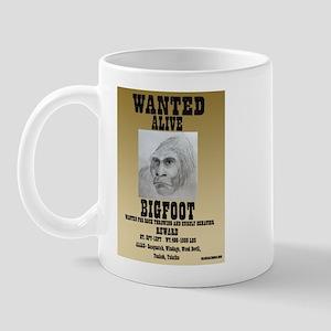 BIGFOOT WANTED! Mug