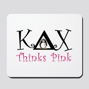 Kappa Delta Chi Thinks Pink Mousepad