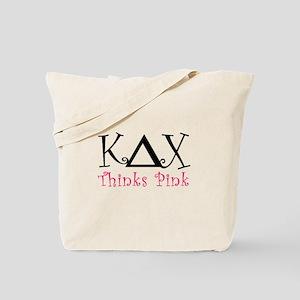 Kappa Delta Chi Thinks Pink Tote Bag