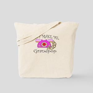 Call Grandpop Girl Tote Bag