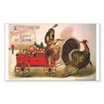 Thanksgiving Bounty Rectangle Sticker