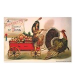 Thanksgiving Bounty Postcards (Package of 8)