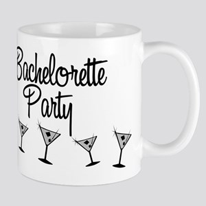 B&W Multi Bachelorette Party Mug