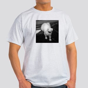 Ferret Saying 241 Ash Grey T-Shirt