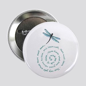 "Witches law-rule of three 2.25"" Button"
